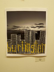 """Burlington"", by Tyler Perry (bendkmace) Tags: show art student vermont exhibit vt winooski ccv tylerperry communitycollegeofvermont"