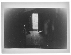Into the light (Andrey Timofeev) Tags: door light blackandwhite bw man film monochrome 35mm carpathians    darkroomprint  35 asahipentaxk1000   2  1990 1994 1991 oldcatholicchurchnearromania 6503550