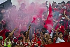 Carnaval de la Barra del Caracas (Clara Ramone) Tags: soccer ucv futbol estadios olimpico tchira caracasfutbolclub barradelcaracas lbdcfc