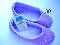 Sapatilhas DaAna (Bordados DaAna®) Tags: tutorial pap sapatilhas tecido pantufas costura comofazer daana vídeoaula