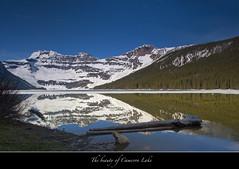 "Cameron Lake-Waterton Lakes National Park-Canada (Joalhi ""Around the World"") Tags: mountain lake reflection glacier cameronlake watertonlakesnationalpark"