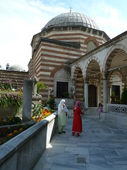 Istanbul 2012 (hunbille) Tags: istanbul eyup turbe sokollumehmetpasha turbeofsokollumehmetpasha