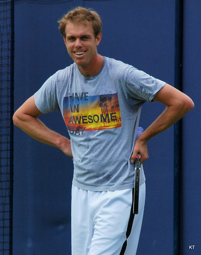 Sam Querrey - Thanks Sam, you have an awesome day too. :-)