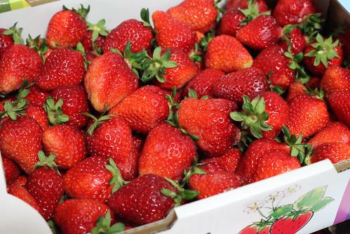 採れとれイチゴ