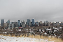View from Cresent Rd (museum98) Tags: calgary downtown bowriver calgarydowntown cityofcalgary bowtower