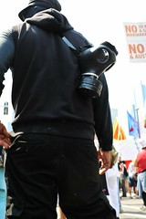 INFILTRATE! (Viewminder) Tags: chicago protest nato blackbloc 52012 splored