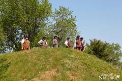 IMG_0202 (Naturally in Niagara) Tags: old war fort battle soldiers british erie reenactment bicentennial culloden 1812
