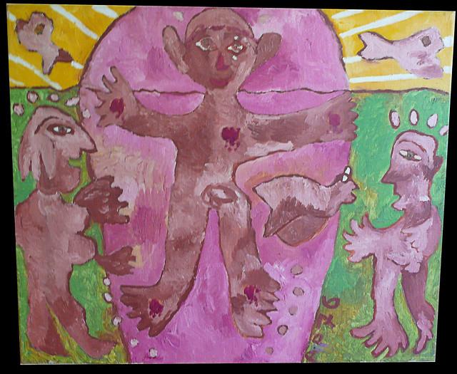 Aldo Piromalli - oil on canvas - 1976 (a gift of the artist) Amsterdam