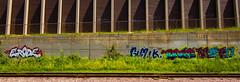 ERODE//GIMIK/TONIC/METO (TheLost&Found) Tags: street bridge urban streetart art minnesota wall train graffiti paint tracks minneapolis msp mpls graff aerosol saintpaul tonic mn aerosolart gimik meto erode minneapolisgraffiti minneapolisgraff minnesotagraffiti saintpaulgraffiti fyok
