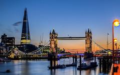 London magic night (Alexandre Moreau | Photography) Tags: longexposure sunset london thames skyline towerbridge buildings photography nikon shot dusk cityhall noflash bttower hdr thamesriver riverview nigh 2012 aftersunset famouse visitlondon theshard d7000