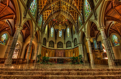 Front and Center (matt_frankel) Tags: church religious high nikon dynamic cathedral name sigma holy christianity 1020mm range hdr d90 tonemap