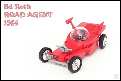 Road Agent (Karwik) Tags: road hot car roth ed lego hotrod rod agent 1964
