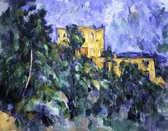 Paul Cézanne: Chȃteau Noir