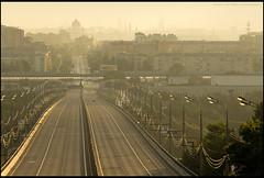 Moscow at dawn. (Yuri Degtyarev) Tags: city lens dawn moscow g sony tripod adapter yuri pro 500 alpha sal ssm slik nex degtyarev 703004556 sal70300g nex5 laea2