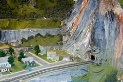 CG403 Mountain Tunnel (listentoreason) Tags: usa america canon newjersey model modeltrain unitedstates favorites places diorama northlandz scalemodel modelrailroad hoscale ef28135mmf3556isusm score25 hoscalemodelrailroad