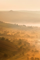 Win Hill (Paul Newcombe) Tags: uk morning autumn trees portrait sunlight mist english misty fog sunrise landscape happy photography countryside haze shadows bright derbyshire peakdistrict sigma apo hills telephoto british layers peaks winhill mamtor 70300 longlens naitonalpark britnatparks hopevallay