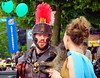 Arrivederci (knightbefore_99) Tags: commercialdrive thedrive vancouver car italian festival street candid centurion day free roman costume silly 2012 june geek