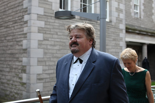 Robbie Coltrane at the Drinks Reception at the Surgeon's Hall