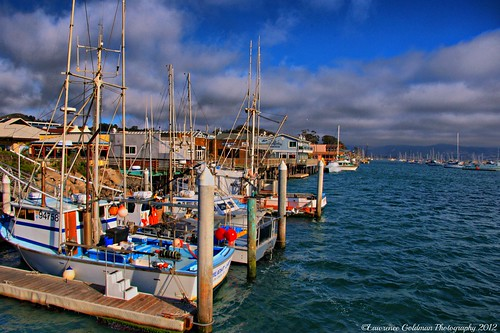 A view of Morro Bay Harbor