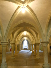 The Crypt at Rochester Cathedral (NB Brian) Tags: cathedral rochester rochestercathedral digitalcameraclub lovelylovelyphoto