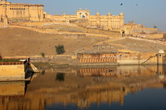Amber Fort  | Jaipur (_punit) Tags: reflections amber fort jaipur