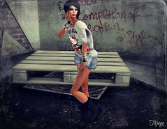 ..:: OUTFIT 33 ::.. (NyTrO StOrE) Tags: street urban woman man store mesh wear clothes hip hop styel nytro