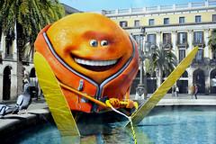 Water skiing in Paris (jmvnoos in Paris) Tags: orange paris france pool ads advertising pub nikon ad swimmingpool pools waterskiing oranges pubs publicit piscine swimmingpools piscines skinautique d700 jmvnoos