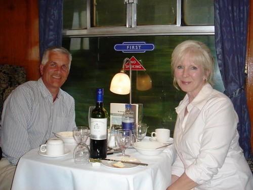 Torbay Express First Class dining