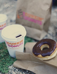 ..     ! (  | WIJDAN Abdulaziz) Tags: light food canon photography natural donuts sweets dunkin   abdulaziz  ||   wijdan         d5||
