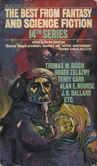 The Best From Fantasy And Science Fiction - 14th Series (Anthology) (exaquint) Tags: scifi bookcover anthology