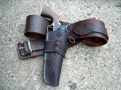 Cartridge Belt and Holster