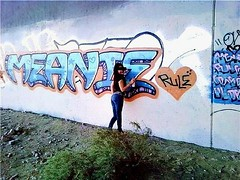 Meanie (13thLetterInTheAlphabet:.) Tags: graffiti mean graff meanie meani