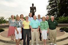 Photo representing Pictures at the Sparty Statue