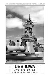 USS Iowa BB-61 (blackheartart) Tags: navy battleship usn ussiowa iowaclass bb61 pacificbattleshipcenter