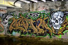 gunk / aura (thesaltr) Tags: art graffiti tunnel bayarea ek southbay aura cbs gunk urbex t010 thesaltr