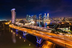 180 Degree Of Marina Bay at Singapore (: : T O N I : :) Tags: ocean city travel bridge sea sky urban building tower tourism water fountain statue skyline architecture modern skyscraper marina river island corporate bay coast harbor town singapore asia cityscape waterfront riverside district famous central bank sunny landmark center structure business commercial highrise destination metropolis tall orient merlion wealth finance developing megalopolis