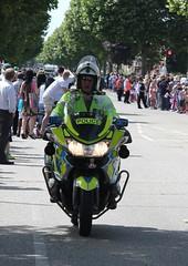 London 2012 Olympic Torch (yve1964) Tags: bus bike police motorbike bmw dagenham london2012 olympictorch
