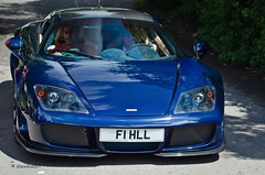 A Noble and Chris Harris (KlausKniehase / KneeRabbit) Tags: blue london carbon goodwood noble m600