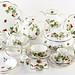 2053. Coalport Strawberry China Dinner Service