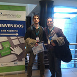 eCommerce Day - Martin and Alejandro selling DayWatch
