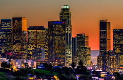 L.A. sunset light! ( In 2 Making Images | L.A.) Tags: california longexposure skyline skyscrapers hollywood downtownla elysianpark digitalphotography lightstreams ilovela creativephotography canoneosdigitalslr discoverlosangeles rebelt2i albertvalles