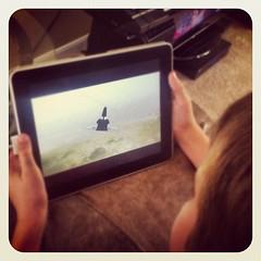 My Little Man Training for Landing #fsim #space #shuttle
