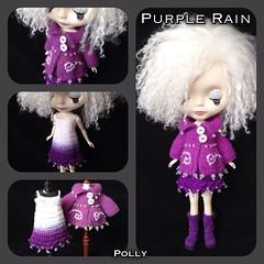 Purple Rain OOAK set
