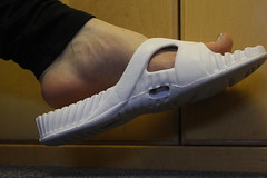 Dangle IV (softboyfeetx) Tags: boy white sexy male feet giant foot big toes arch 10 sandals nail smooth platform young arches 11 size heels heel vein veins ankle soles sandal thick ankles wrinkled boyfeet veiny poish