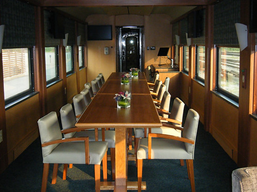 Meetings on The Rocky Mountaineer from The Luxury Train Club