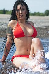 K7_11571 (Bob West) Tags: beach lakeerie megan greatlakes bikini k7 tamron2875f28 modelshoot bobwest