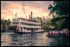 Rivers of America - Magic Kingdom (Adam Hansen) Tags: nikon waltdisneyworld magickingdom lightroom tomsawyersisland libertybelle riversofamerica