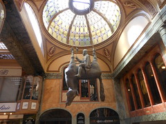 David Czerny sculpture, Lucerna Palace, Prague (Royston Rascals) Tags: sculpture czech prague lucernapalace davidczerny prague2012 20120731