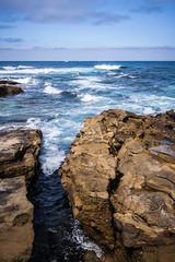La Jolla Cove IMG_0410 (Lucas Haynes) Tags: ocean blue seascape la rocks waves jolla