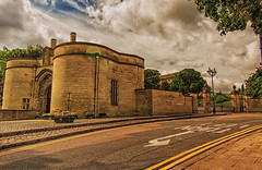 IMG_1208 (brianfagan) Tags: brianfagan 7d angle architecture buildings canon centre city cityscape cloud eos nottingham nottinghamshire notts scene sky street summer uk wide robin hood castle pub